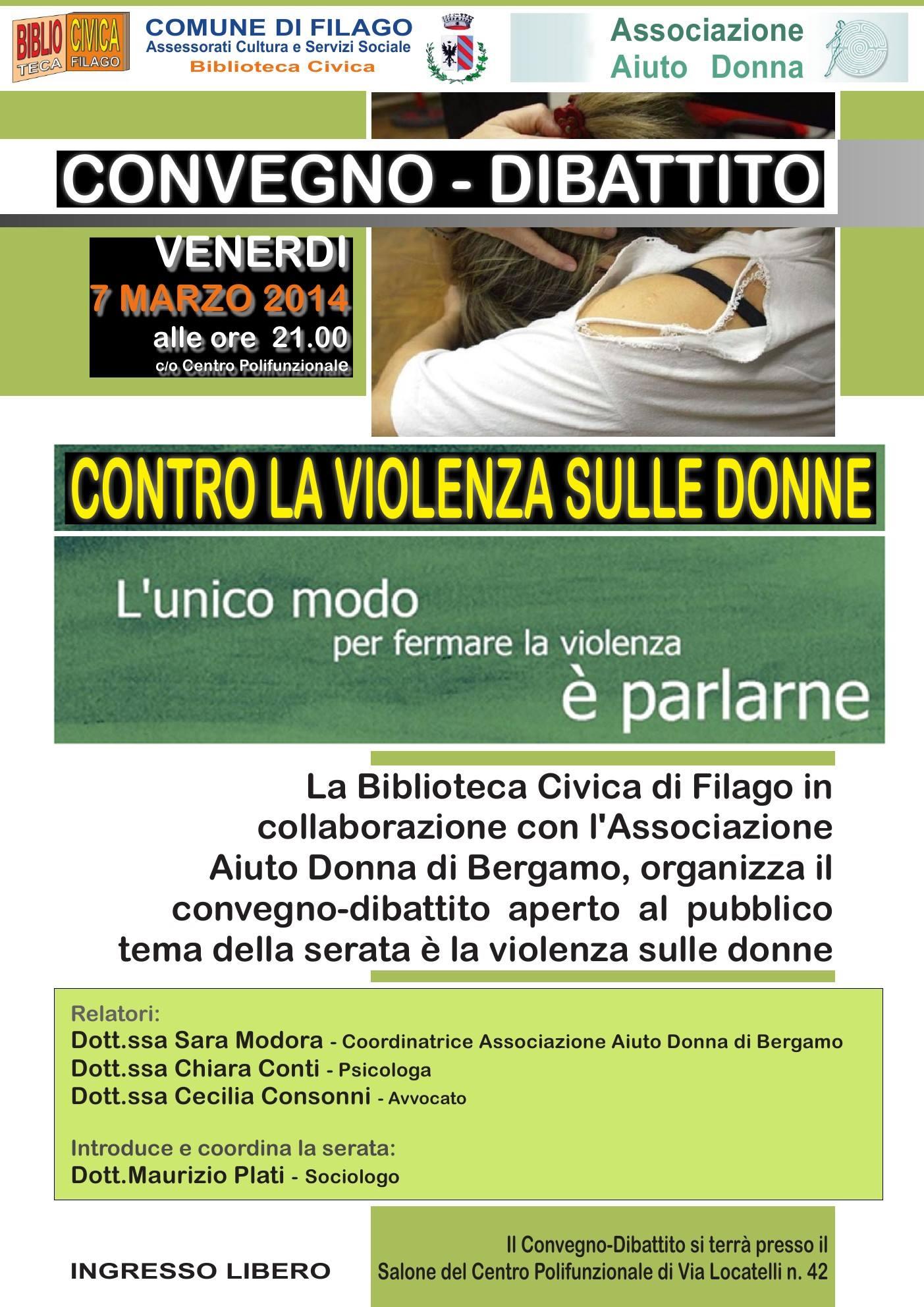 Convegno Aiuto Donna Bergamo