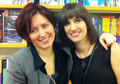 Chiara Cretella e Inma Mora Sánchez, autrici del libro Lessico Familiare