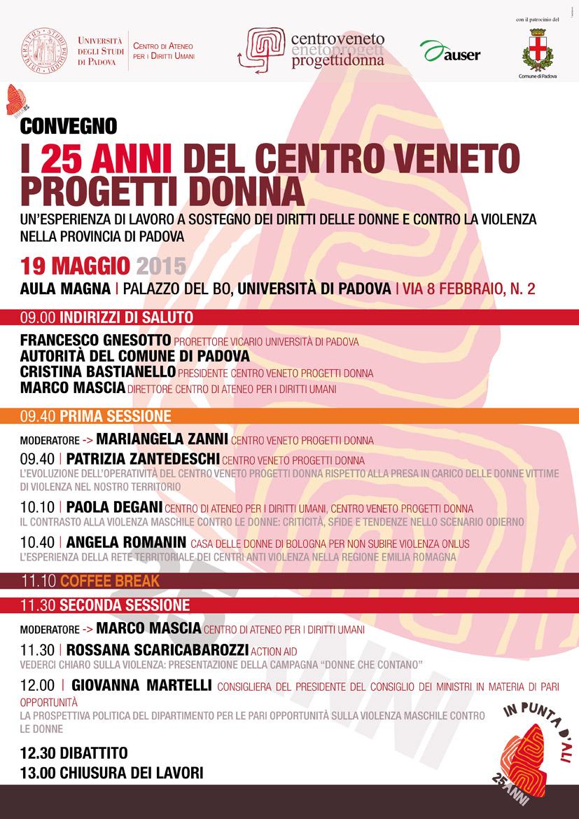 25 anni del Centro Veneto Progetti Donna