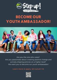 Diventa Youth Ambassador di Step UP!