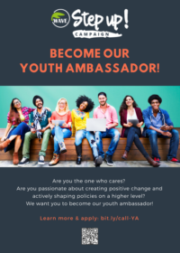Diventa Youth Ambassador di Step UP!