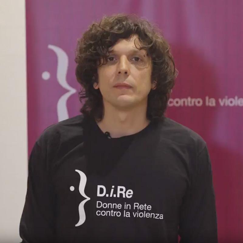 Ermal Meta testimonial della campagna Dire contro la violenza sulle donne