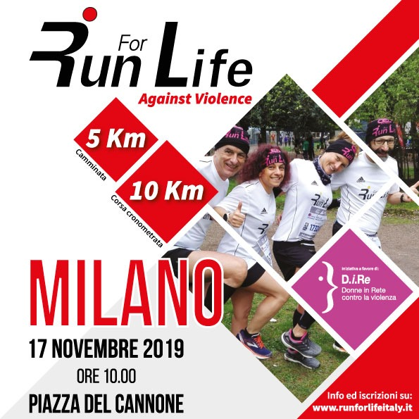 Run for Life per D.i.Re