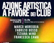 Azione artistica Dj Marco Moreggia Piper raccolta fondi per D.i.Re