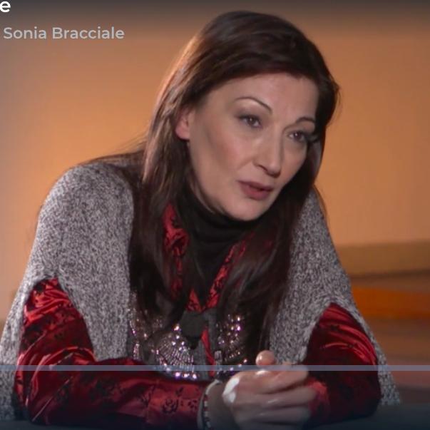 """Sonia Bracciale nella puntata di """"Storie Maledette"""" condotto da Franca Leosini su RAI 3"""