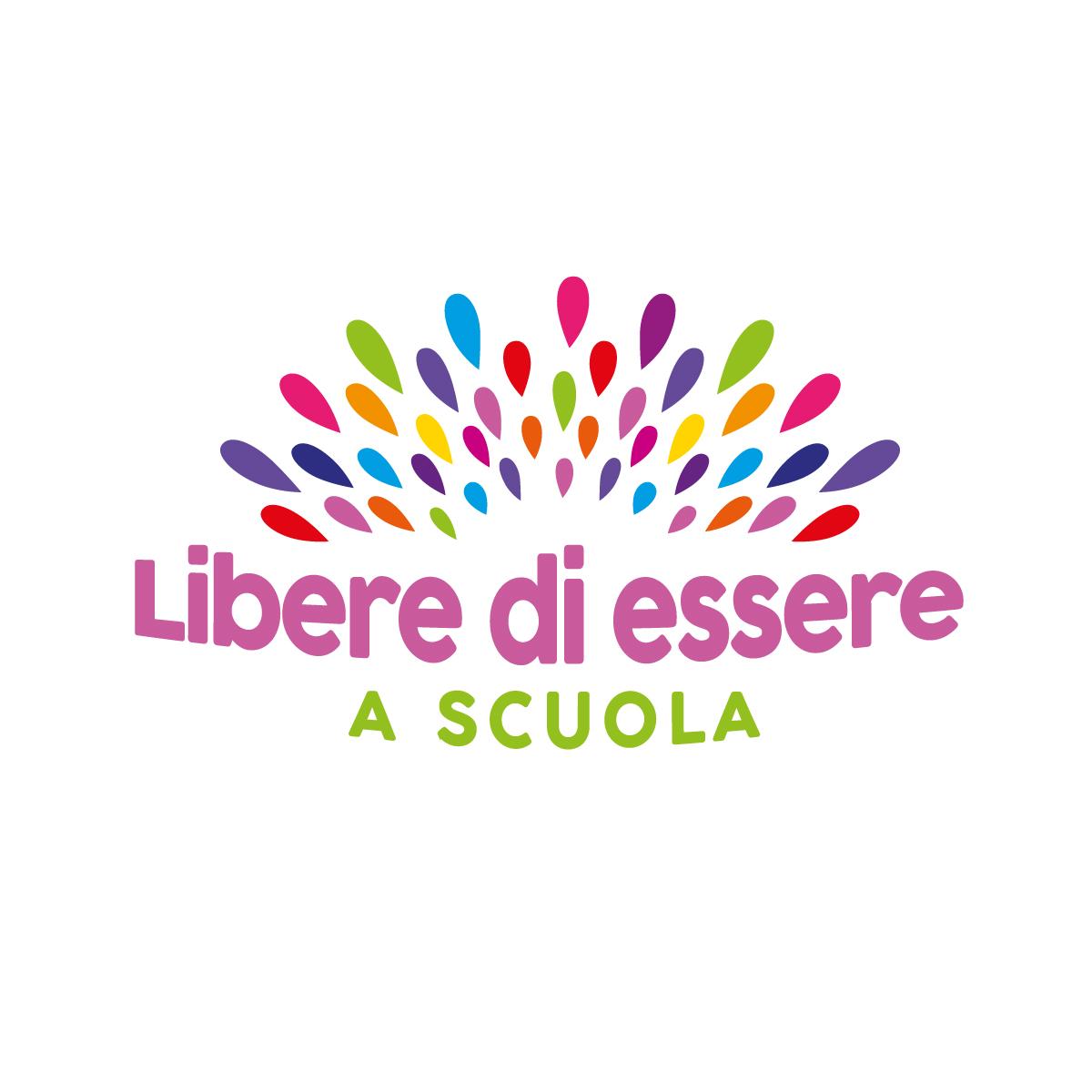 Logo Libere di essere a scuola - progetto Dire