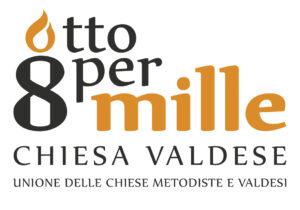 Logo Chiesa Valdese 8xmille