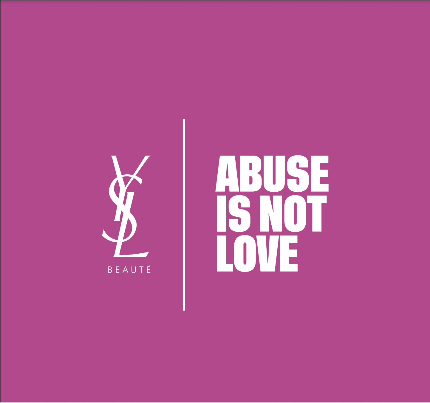 YSL Abuse is not Love